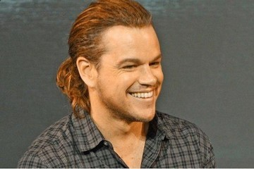 People on Twitter Lose It Over Matt Damon's Ponytail