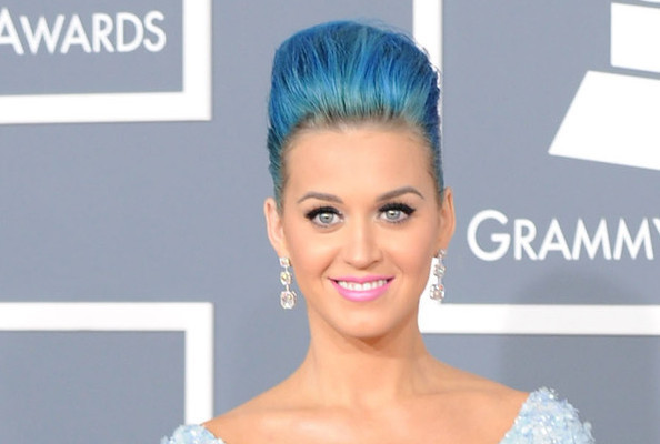 Katy Perry Looks Radiant at the 54th Annual Grammy Awards