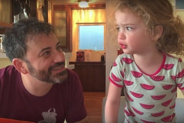 Jimmy Kimmel Plays the Halloween Candy Prank on His Own Daughter ...