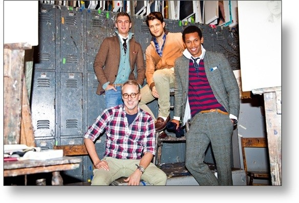 GANT by Michael Bastian's Fall 2013 Collection Inspired by Norman Rockwell Paintings