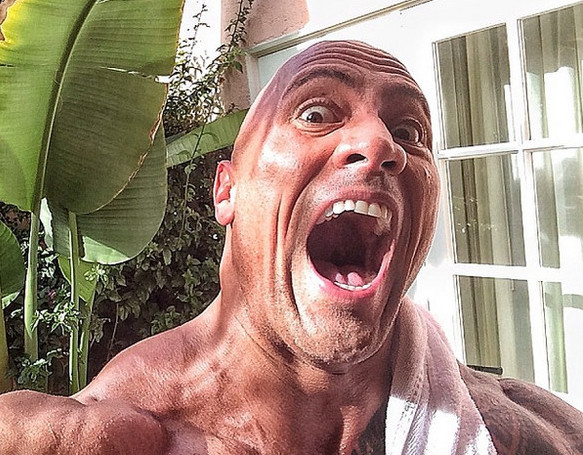 All the Times the Rock Couldn't Contain His Excitement