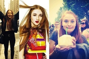 Sophie Turner: The Things You Can Tell Just by Looking at Her Instagram