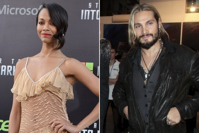 Who is zoe saldana dating now