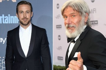 Harrison Ford Punched Ryan Gosling in His Beautiful Face, But They're Cool
