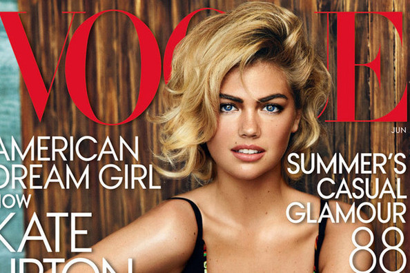 Kate Upton (Finally!) Lands a 'Vogue' Cover