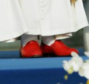 Confirmed: The (Ex) Pope's Shoes Are Not Prada, Are Still Fancy