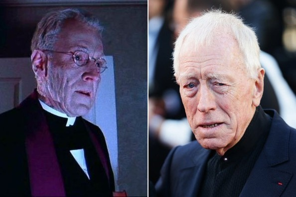 Max von Sydow Max Von Sydow Comparing Old Age Makeup to the Real Thing