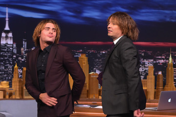 Zac Efron Recreates His Hideous Crimped Hairstyle & Busts a Move With Jimmy Fallon