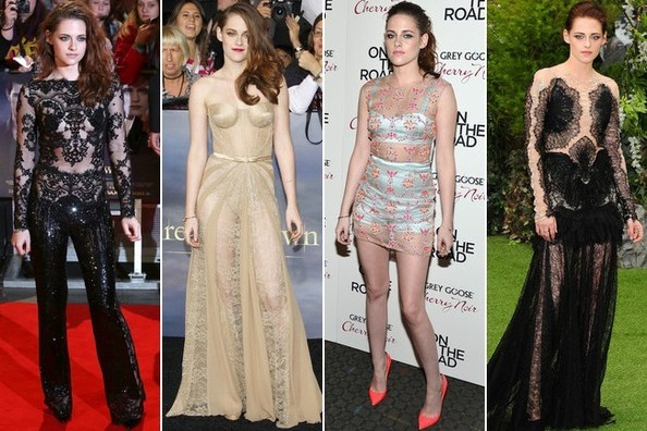 Kristen Stewart's See-Through Style - Pick a Favorite!