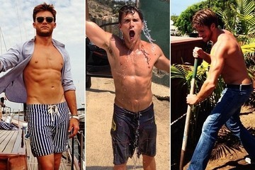 Scott Eastwood's Sexy Shirtless Pictures