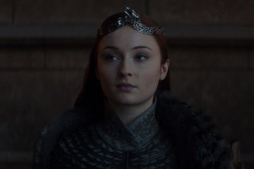 Sansa Got To Sit On A Throne After All