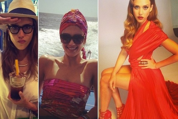 Jessica Alba's Instagram Highlights