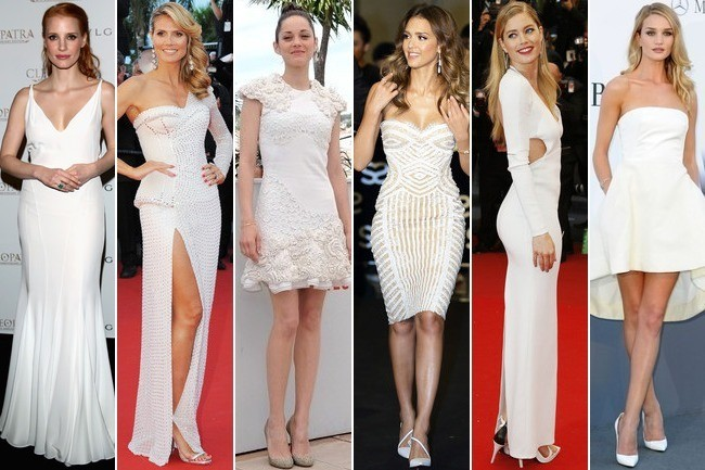 Celebrity Style Obsession: White Haute Dresses
