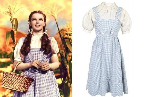 Judy Garland's 'Wizard of Oz' Dress is Up for Grabs