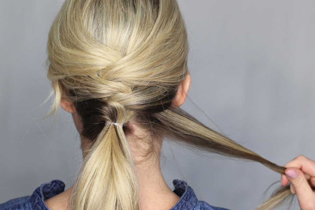Spruce Up Your Work-Week Pony with a Cool Crisscross DIY