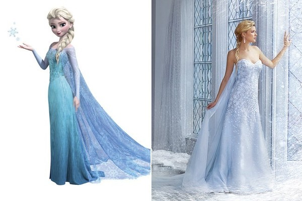 Wedding Dress Inspiration Fit for a Disney Princess - Tying The Knot ...