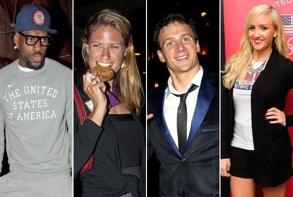 Athletes Partying at the Olympics