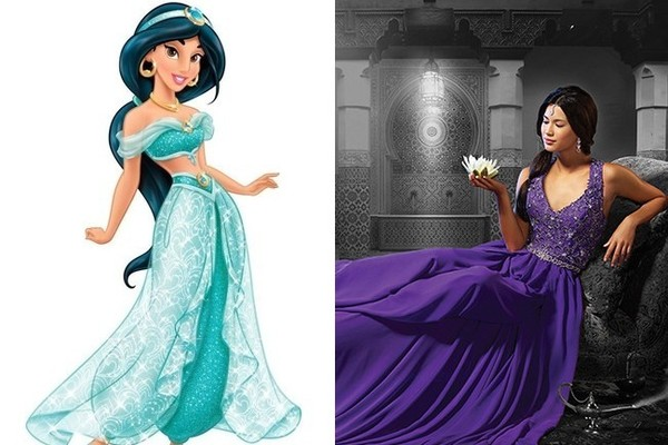 Wedding Dress Inspiration Fit For A Disney Princess Tying The