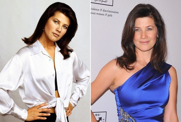 Daphne Zuniga on melrose place
