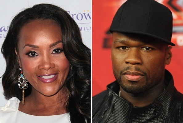Celebs Who've Dated Rappers » Celeb News/Vivica A. Fox Dated 50 Cent