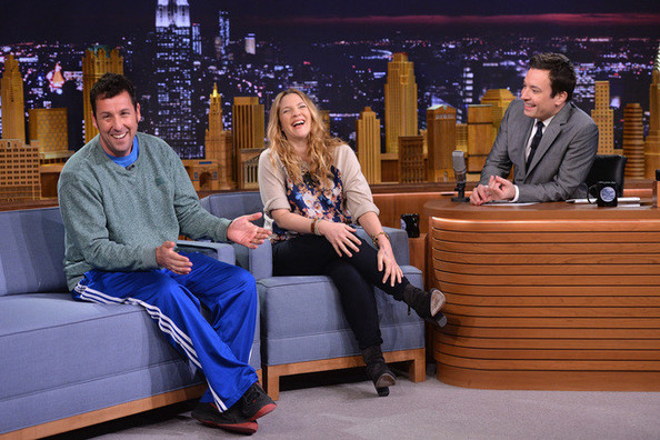 Drew Barrymore's Romantic Performance (And Outfit) on 'The Tonight Show Starring Jimmy Fallon'