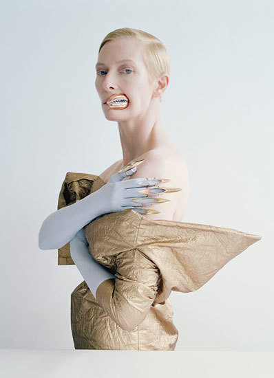 Tilda Swinton Covered Herself in Centipedes for 'W'