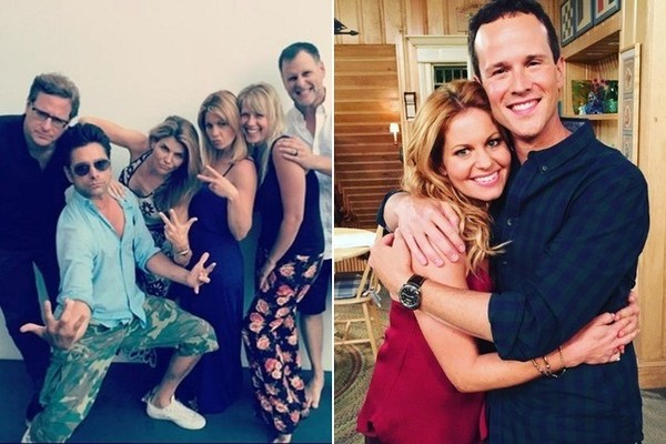 The Best Behind The Scenes Photos From The Cast Of U0027Fuller Houseu0027