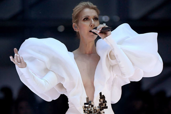 THE POWER OF LOVE: Céline Dion compassionate to stage rusher