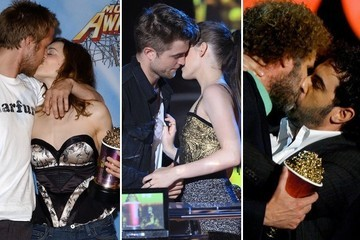 MTV Movie Award Best Kiss Winners