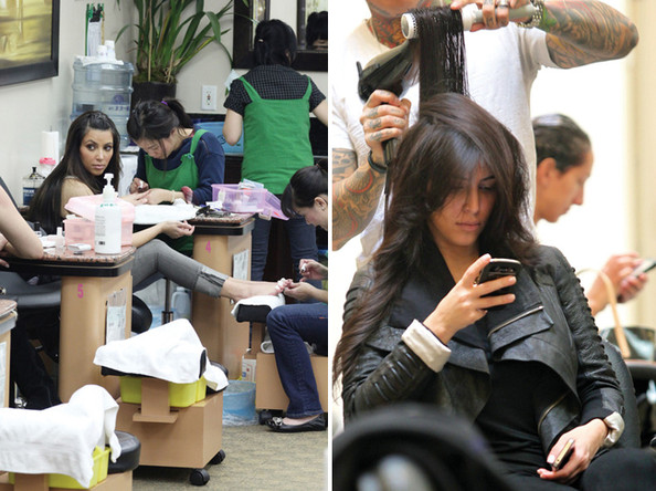 Celebrity Beauty Book: Here's Where Kim Kardashian Gets Her Hair and Nails Done in L.A.!
