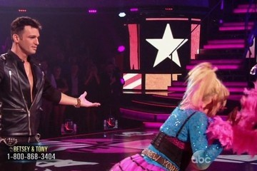 Betsey Johnson Trips on a Boa and Other 'DWTS' Highlights