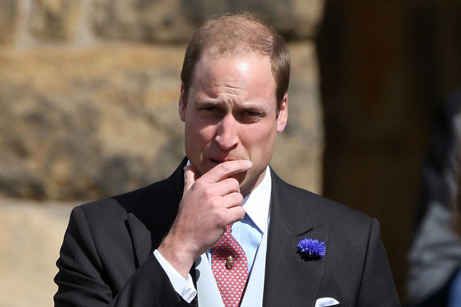 Royal Baby Update: Prince William Keeps His Cool, Plays