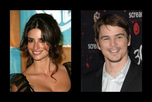 Penelope Cruz dated Josh Hartnett