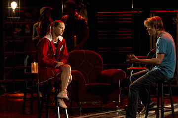 'Glee' New Photos: Sam Serenades Brittany