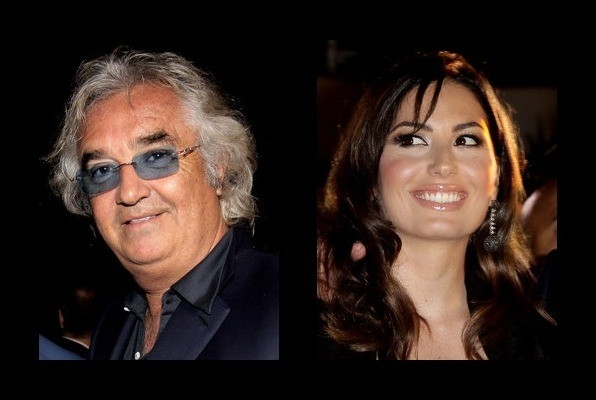 Flavio Briatore is married to Elisabetta Gregoraci