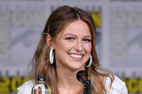 Watch A Real Life 'Supergirl' Ask Melissa Benoist About Being A Role Model