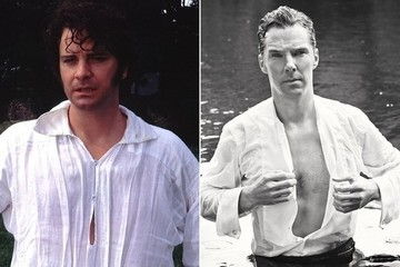 Who Wore It Better? Mr. Darcy vs. Benedict Cumberbatch