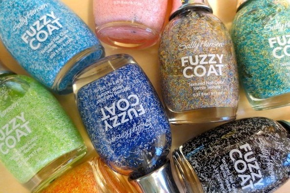 Obsession: Sally Hansen's Fuzzy Coat Textured Nail Colors