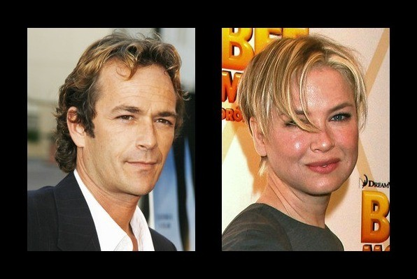 Luke Perry dated Renee Zellweger - Luke Perry Girlfriend - Zimbio