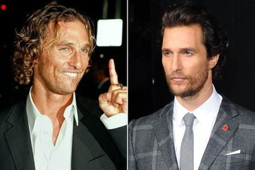 The Evolution of Matthew McConaughey's Red Carpet Face