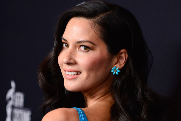 Olivia Munn's True Blue Glory