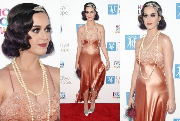 Katy Perry Quits Goth, Gets a New Flapper-Inspired Look