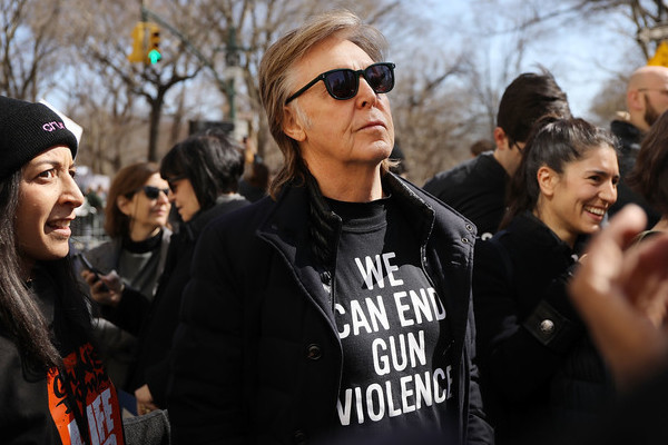 Paul McCartney's Tribute To John Lennon During March For Our Lives Was Simple Yet Powerful
