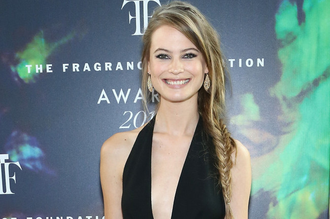 Hair Envy of the Day: Behati Prinsloo's Side Fishtail Braid
