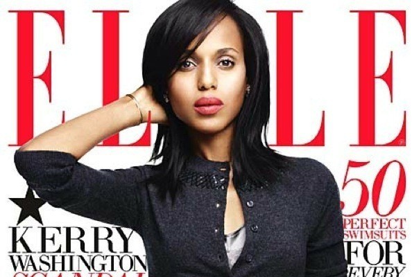 Kerry Washington Lands Her First 'Elle' Cover, Ali Lohan Signs With Wilhelmina, and More!