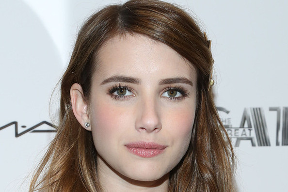 Found: Emma Roberts' (Under $200) White Crochet Mini Dress