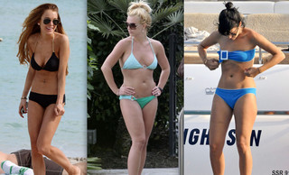Celebrity Bikini Battle - Hot Messes