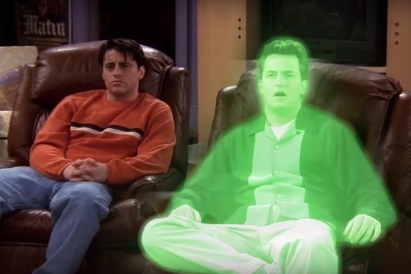 Spooky 'Friends' Mashup Reimagines the Show With Chandler as a Ghost