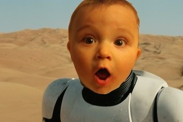 Babies' Reactions to the 'Star Wars' Trailer Will Melt Even the Most Cynical Heart