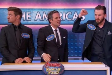 Watch the 'Avengers' Cast Play a Game of 'Family Feud'
